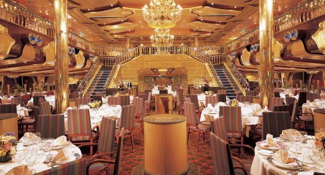 Carnival Sensation Dining Room Menu