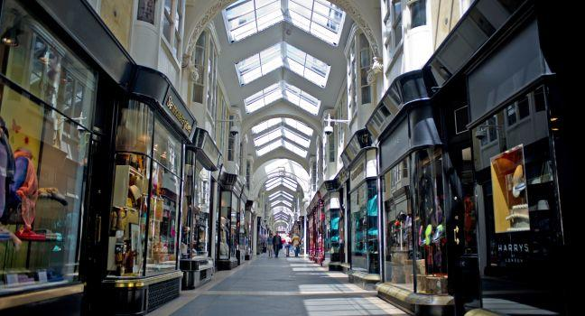 Burlington Arcade, London, England