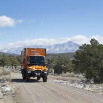 Truck, Road, Wild Rivers Recreational Area, Taos, New Mexico