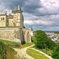 Cityscape, River, Bridge, Castle Blois, Blois, The Loire  Valley, France