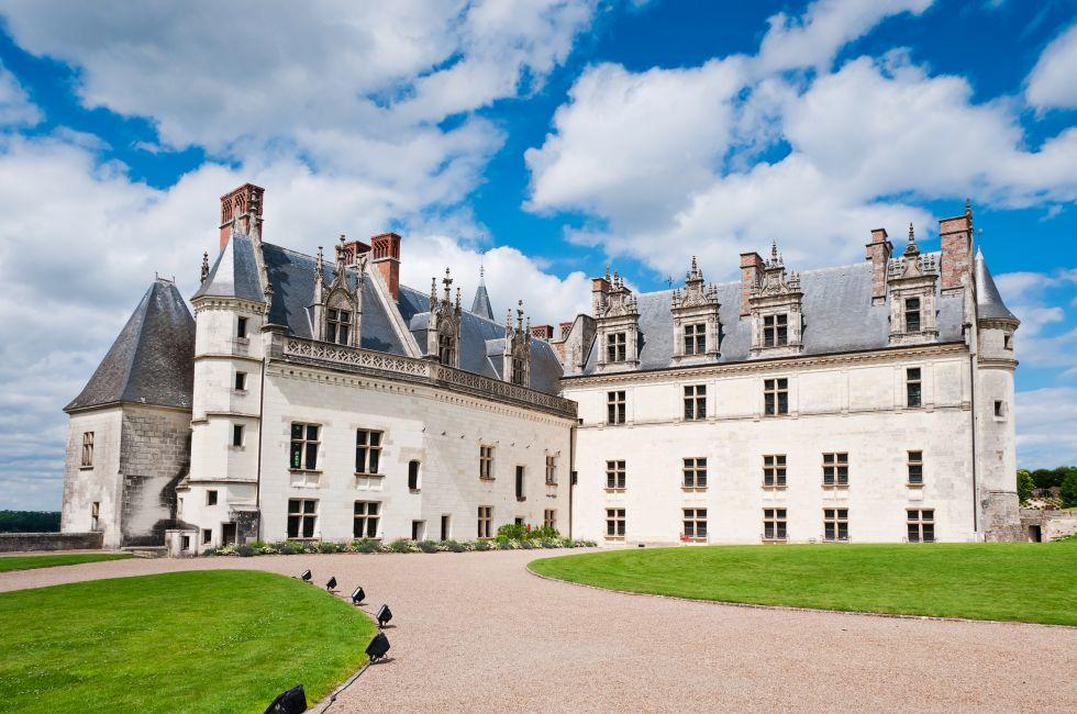 Exterior, Aboise Castle, The Loire Valley, France