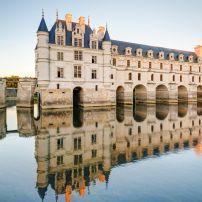 Exterior, Lake, Chateau de Chenonceaux, Chenoceaux, France