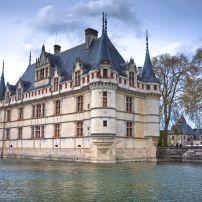 Exterior, Azay-le-Rideau Castle, Azay-le-Rideau, Loire Valley, France