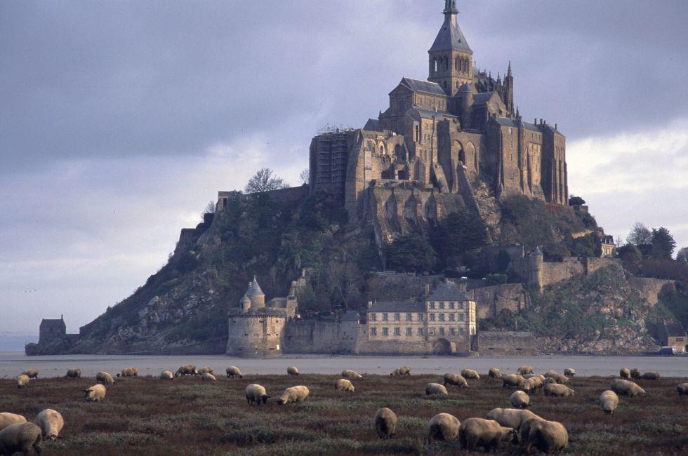 Mont St. Michel: France