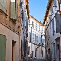 Houses, Alley, Backstreets, Arles, France