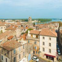 Rooftops, Cityscape, Old Town, Arles, Provence, France