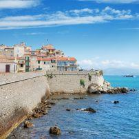 Coastal Wall, Antibes, The French Riviera, France