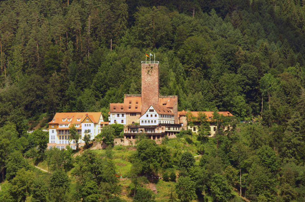 Exterior, Bad Liebenzell Castle, Bad Liebenzell, The Black Forest, Germany