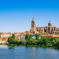 Old City, Waterfront, Salamanca, Spain