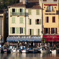 Waterfront, Boats, Cassis, Provence, France