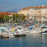 Boats, Port, St-Raphael, The French Riviera, France