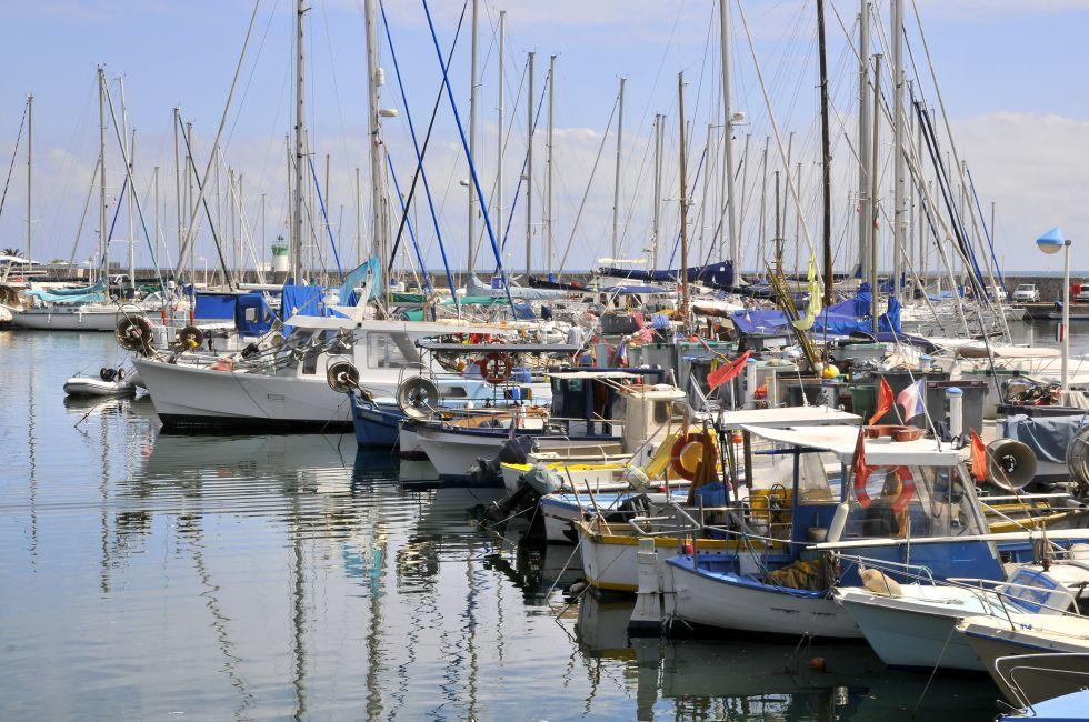 Port of Golfe Juan, Vallauris, The French Riviera, France