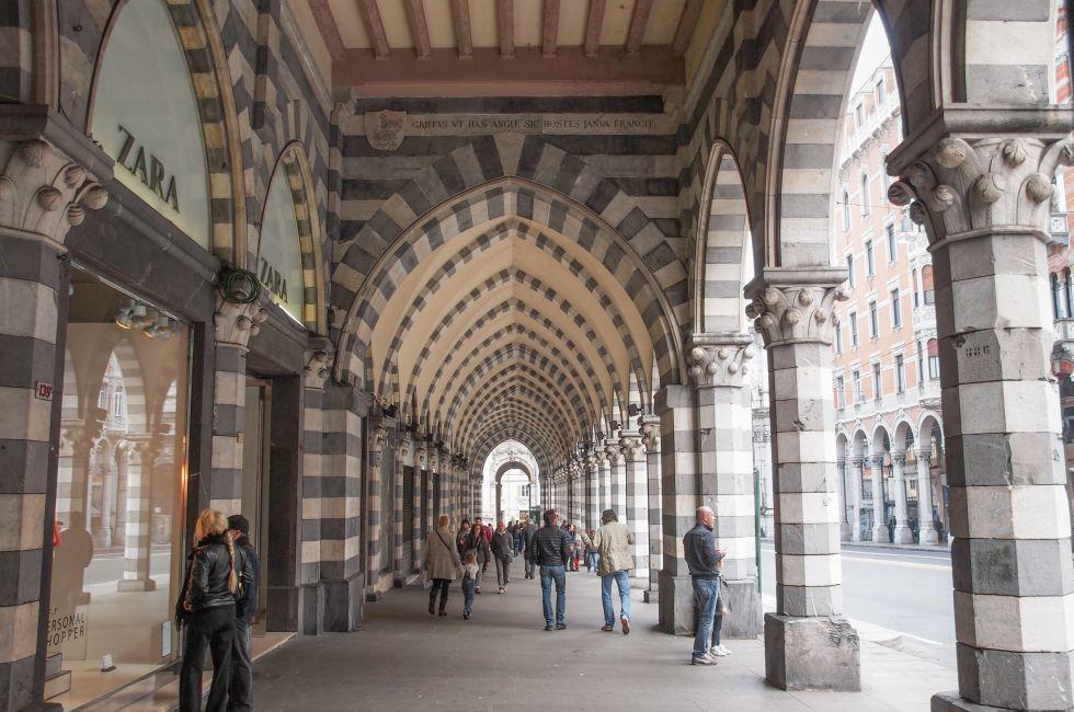 Shops, Genoa, Italy
