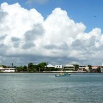 Boat, Harbor, Panorama, Belize City, Belize
