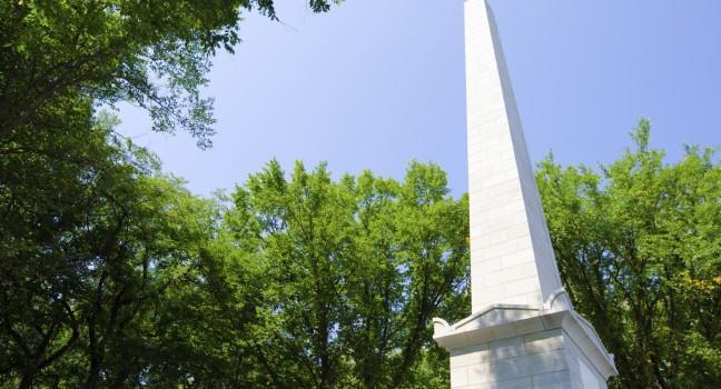 Monument, Jardin des Gouverneurs, Quebec City, Canada