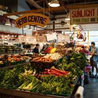 Granville Island Public Market, Granville Island, Vancouver, Canada