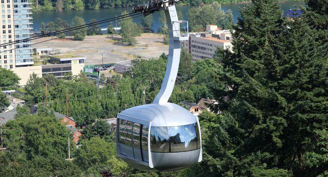Aerial Tram, Portland, Oregon