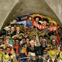 Diego Rivera Mural, National Palace; Mexico City, Mexico