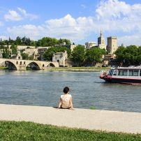 Bridge, Rhone River, Avignon, France