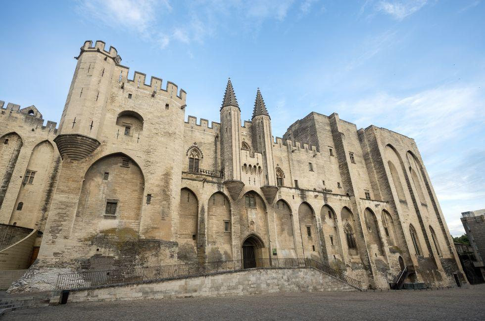 Castle, Palace of the Popes, Avignon, France