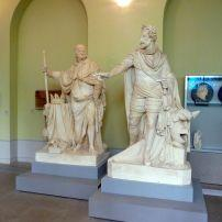 Statues, Granet Museum, Aix-en-Provence, Provence, France
