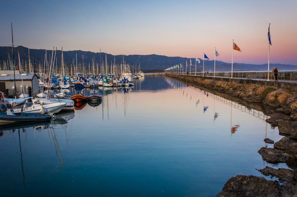 Boats, Harbor, Santa Barbara, California