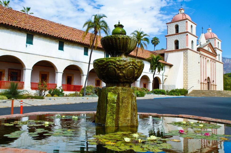 Santa Barbara Monastery, Santa Barbara, California, USA