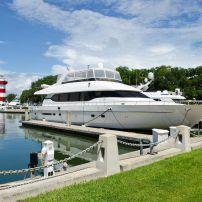 Yacht, Harbor, Hilton Head Island, South Carolina