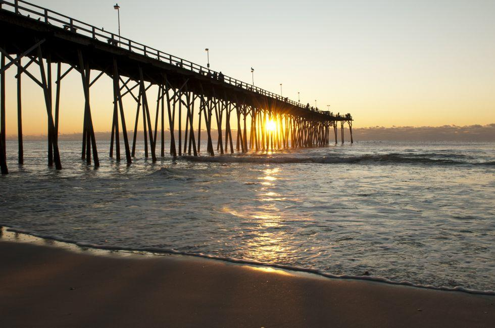 Pier, Kure Beach, North Carolina