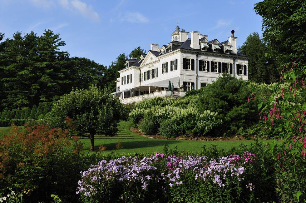 The Mount, Edith Wharton Home, Lenox, Berkshires, Massachusetts