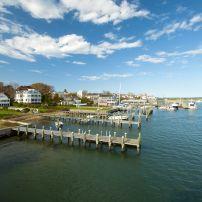 Harbor, Edgartown, Martha's Vineyard, Massachusetts, USA