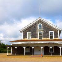 The Grange Hall, West Tisbury, Martha's Vineyard, Massachusetts, USA
