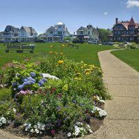Ocean Park, Oak Bluffs Beach, Martha's Vineyard, Massachuseets, USA
