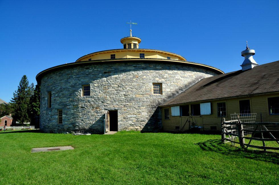 Stone Barn, Hancock Shaker Village, Hancock, Massachusetts