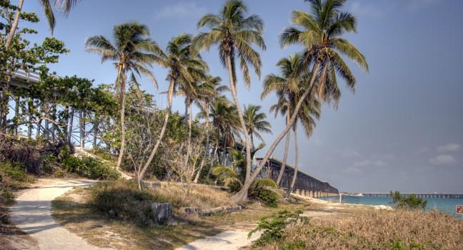 Coast, Bahia Honda State Park, The Florida Keys, Florida, USA