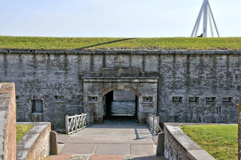 Fort Macon Civil War Museum, North Carolina