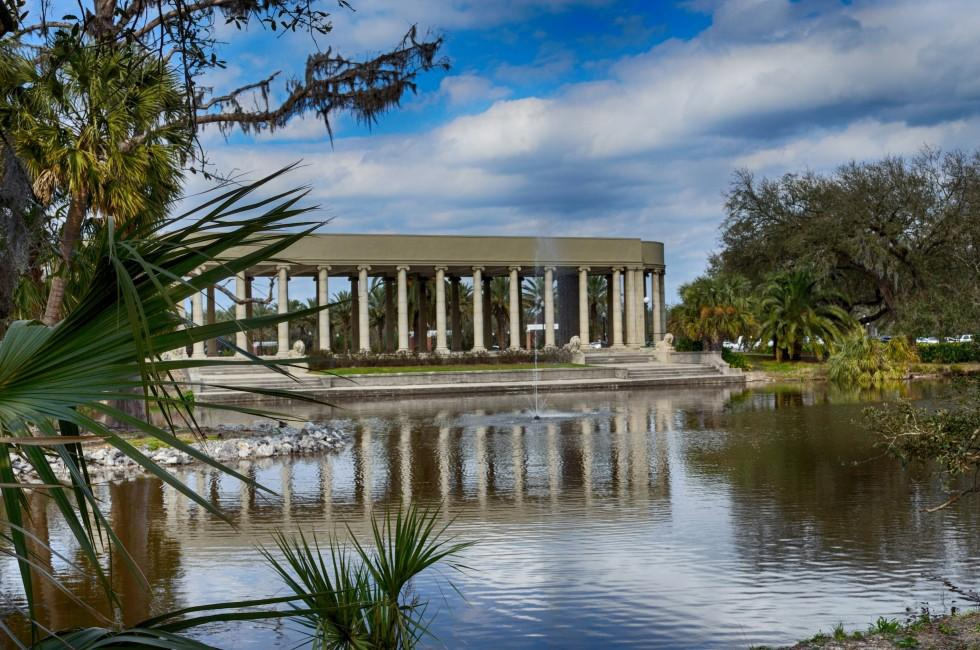 New Orleans City Park Parthenon, New Orleans, Louisiana, USA