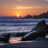 Beach, Pfeiffer Beach, Big Sur, California