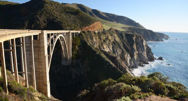 Bixby Bridge, California Route One, Big Sur, California