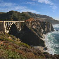 Bridge, Coastline, Big Sur, California
