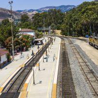Train, Train Station, San Luis Obispo, California