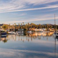 Boats, Houses, Waterfront, Ventura, California