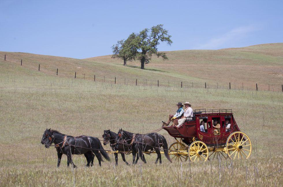 Horses, Carriage, Santa Ynez Valley Historical Museum and Carriage House, Santa Ynez, Santa Barbara, California