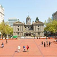 Pioneer Courthouse, Pioneer Square, Downtown, Portland, Oregon, USA