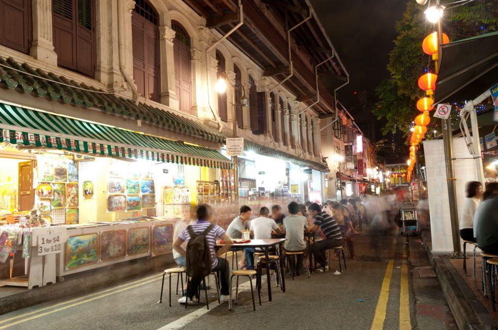 Market, Chinatown, Chinatown and Tiong Bahru, Singapore, Asia.