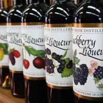 Wine Bottles, Clear Creek Distillery, Nob Hill, Portland, Oregon, USA