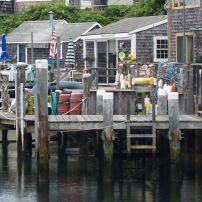 Docks, Menemsha, Martha's Vineyard, Massacusetts, USA