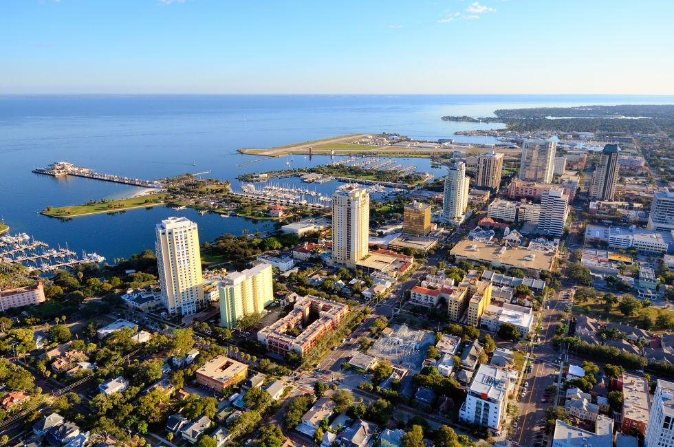 Cityscape, Skyline, St. Petersburg, Florida