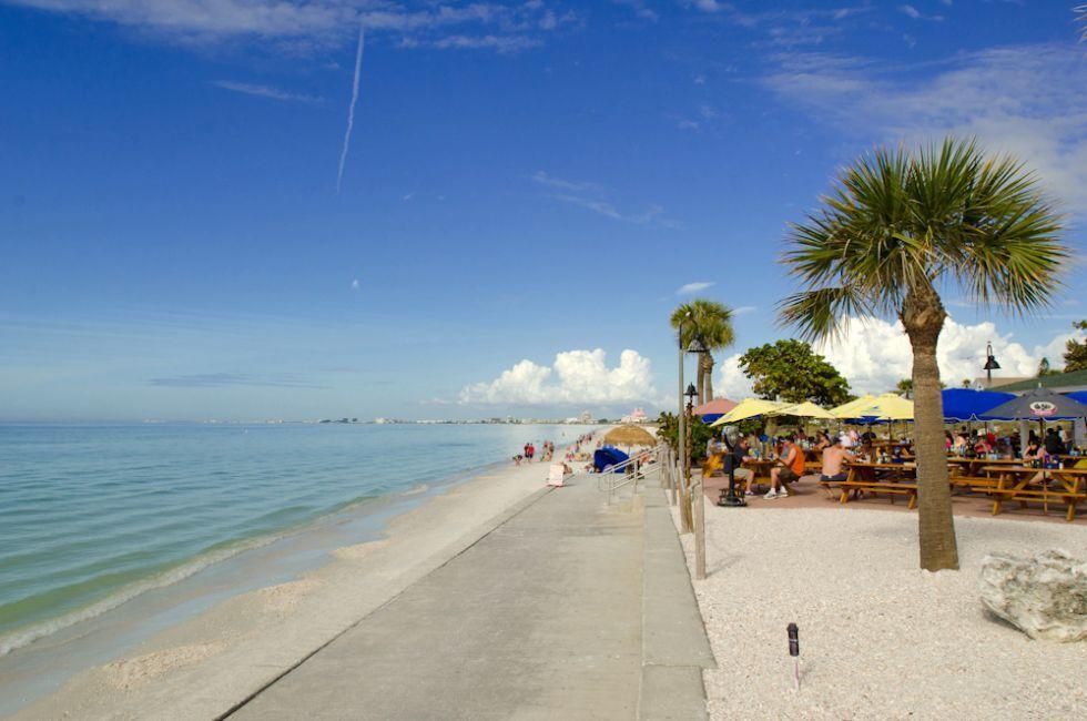 Coastline, Pass-a-Grille Beach, St. Petersburg, Florida