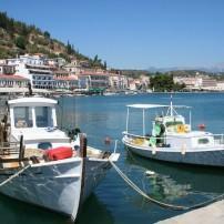 Boats, Harbor, Gythion, Peloponnese, Greece